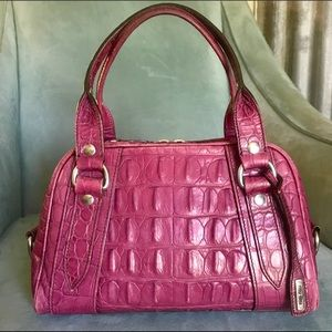 Authentic embossed Miu Miu handbag!
